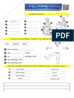 Clothes - Circus Show (Worksheet 6)