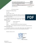 Surat Permohonan Peminjaman Tempat