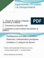 Tema 7 (F.I) Organizarea Circulaţiei Băneşti La Întreprindere