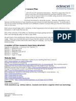 E1 Lesson Plan ICT