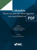 Colombia Hacia un país de altos ingresos con movilidad social