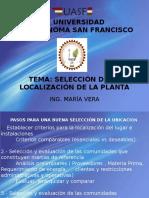 Presentación1 LOCALIZACIÓN DE PLANTA.ppt