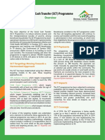 Social Cash Transfer Fact Sheets