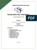 Informe N03 Tecnología de Concreto