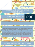 Infant and Young Child Feeding (Iycf)