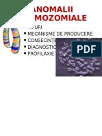 Anomalii Cromozomiale ROM