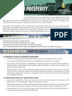 AFP-NJ 2016 Legislative Agenda