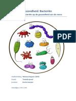 invloed van de bacterien op de gezondheid van de mens