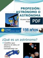 Profesión Astrónomo