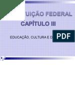 Educação Cultura e Desporto