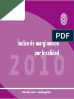 Indice de Marginacion Por Localidad