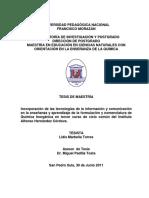 Incorporacion de Las Tecnologias de La Informacion y Comunicacion en La Ensenanza y Aprendizaje de La Formulacion y Nomenclatura de Quimica Inorganica en Tercer Curso de Ciclo Comun Del Instituto Alfonso Hernandez c (1)
