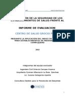 Informe Ish Centro de Salud Grocio Prado
