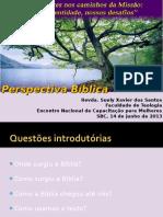 Encontro de Mulheres 2013 - Introd. a Biblia