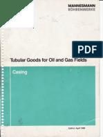 Catálogo de Casing - Perforacion