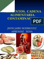 Alimentos, Cadena Alimentaria,Contaminacion