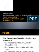 Barcelona Traction Case