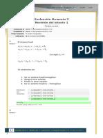 Evaluacion Momento 3 Intento 1 Algebra Lineal