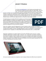 Comprar Tablets Android Y Windows