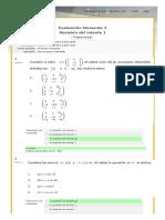 Evaluacion Momento 2 Intento 1 - Algebra Lineal