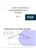 Optyka - Kurs Wyrównawczy 4 - Soczewki