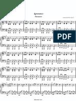 Paramore - Ignorance piano sheet free0