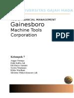 Gainesboro Case_Kelompok 7