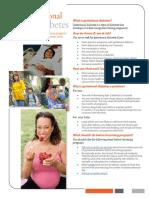 Cdc Gestationaldiabetes