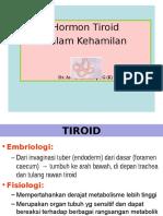 Tiroid Dalam Kehamilan