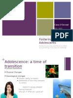 adolescent development symposium clare odonnell