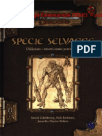 [D&D 3.5 ITA] Specie Selvagge