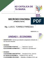 Microeconomia .... Primera Parte