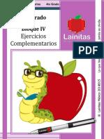 4to Grado - Bloque 4 - Ejercicios ComplementariosHUGO - CopiaBUENA