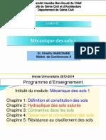 Polycopie Mecanique Des Sols 1 Licence 2 Genie Civil Harichan