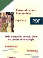 2. Pensar Como Economista