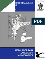 Instalaciones Hidráulicas y Sanitarias - Mezclador Para Lavamanos. Monocontrol 6