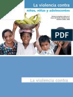 ONU Violencia Contra Ninos Ninas y Adolescentes