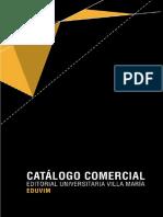 Catalogo_comercial Editorial Universitaria de Villa María, Eduvim
