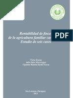 Rentabilidad de finca de agricultura familiar campesina