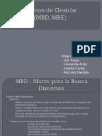 Marcos de Gestion Mbe Mbd