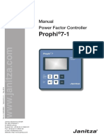 Janitza Manual Prophi 7 Gb