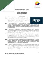 23 04 2015 Acuerdo Ministerial 061