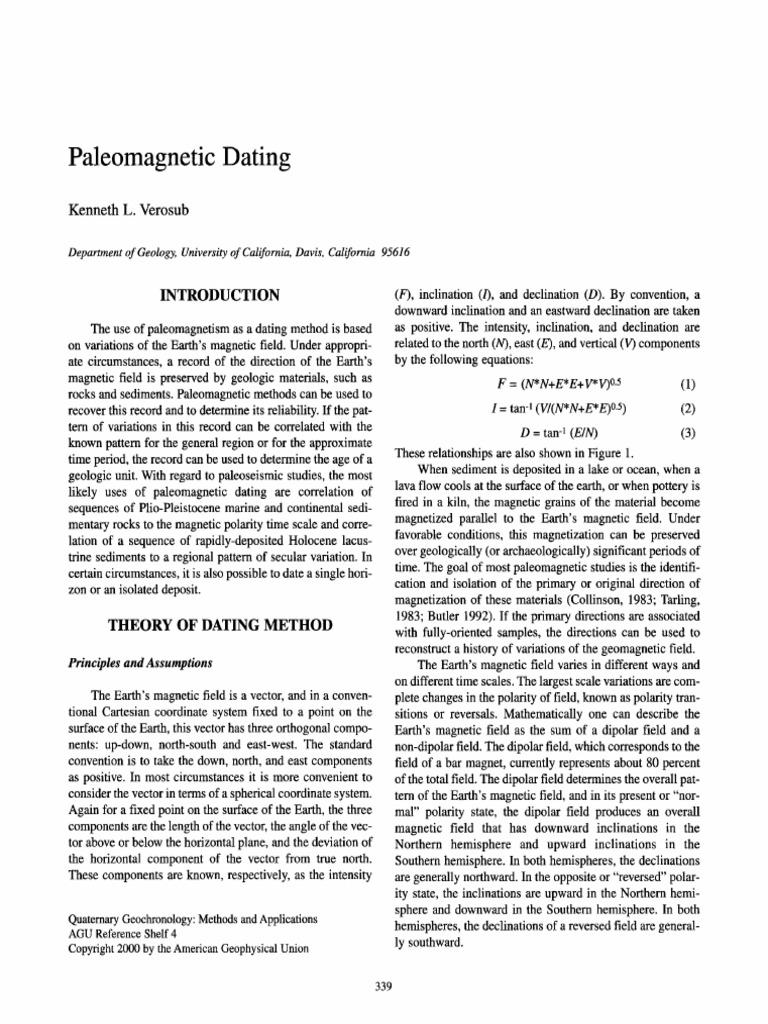 Uran-thorium dating