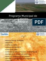 Programa Municipal Catastro Integral - QUERETARO