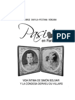 Bolivar-libro Pasion en Paris
