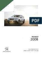 Ficha Peugeot 2008