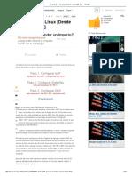 Cambiar IP en Linux [Desde Consola][Facil] - Taringa!