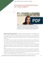 31/03/16 Encabezará Claudia Pavlovich Reunión de La Comisión Sonora-Nuevo México -El Observador