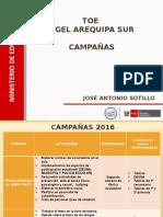 TUTORÍA - CAMPAÑAS