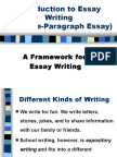 Five-Paragraph Essay - Introduction (Iva)